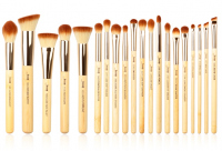 JESSUP - Bamboo Brushes Set - Set of 20 brushes for face and eye make-up - T145
