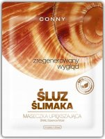 CONNY - Snail Essence Mask - Beautifying face mask - Snail mucus - Regenerated look - 23 g