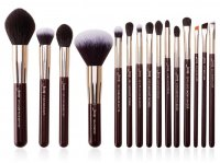 JESSUP - Zinfandel Daily Brushes Set - Set of 15 brushes for face and eye make-up - T282