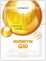 CONNY - Q10 Essence Mask - Rejuvenating face mask - Coenzyme Q10 - Youth and radiance - 23 g