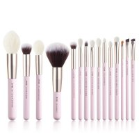 JESSUP - Blushing Bride Daily Brushes Set - Set of 15 brushes for face and eye make-up - T292