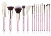JESSUP - Blushing Bride Essential Brushes Set - Set of 15 brushes for face and eye make-up - T293