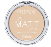 Catrice - POWDER - All matt plus shine control powder - 030 - WARM BEIGE - 030 - WARM BEIGE