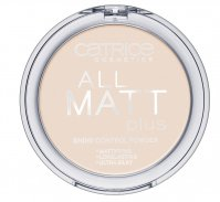 Catrice - POWDER - All matt plus shine control powder - 010 - TRANSPARENT - 010 - TRANSPARENT