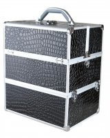 MAKE-UP BOX NS06 + A/BLACK (crocodile)