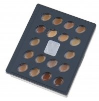 KRYOLAN - HD micro foundation cream - Palette of 18 HD primers - ART. 19018