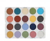Kryolan - Palette of 20 eyeshadows - MATT / IRIDESCENT