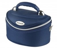 Inter-Vion - Make-up box - 413569 D - SMALL - (BLUE)