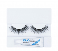 DUO - Professional eyelashes - Artificial eyelashes + adhesive - D12 - D12