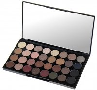 MAKEUP REVOLUTION - Flawless Ultra Eyeshadows - Palette of 32 eyeshadows