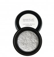 MAKEUP REVOLUTION - Awesome Metals Foil Finish - Metallic eye shadow - PURE PLATINUM - PURE PLATINUM