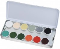 KRYOLAN - SUPRACOLOR - Make-up Palette with 24 colors - ART. 1008