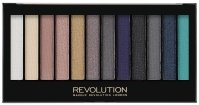 MAKEUP REVOLUTION - Redemption Palette ESSENTIAL DAY TO NIGHT - 12 Eyeshadows