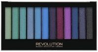 MAKEUP REVOLUTION - Redemption Palette MERMAIDS VS UNICORNS - 12 eyeshadows