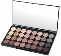MAKEUP REVOLUTION - BEYOND FLAWLESS ULTRA EYESHADOWS - Palette of 32 eyeshadows