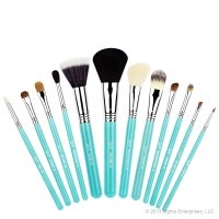 Sigma - ESSENTIAL KIT - MAKE ME COOL - Professional set of 12 brushes + tube (GREEN)