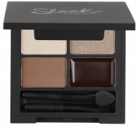 Sleek - i-Quad Eyeshadow & Eyeliner - MOROCCAN MYRRH - 333