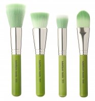 Bdellium tools - Green Bambu Series - Foundation 4pc. Brush Set