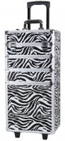 MAKE-UP BOX ON WHEELS - TC-004 ZEBRA