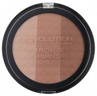 MAKEUP REVOLUTION - BRONZE SHIMMER HIGHLIGHT - Bronzing powder