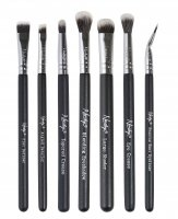 Nanshy - THE EYE BRUSH SET ONYX BLACK - Set of 7 make-up brushes - EB-SET-002