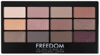 FREEDOM - PRO 12 SECRET ROSE - Eyeshadow palette