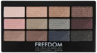 FREEDOM - PRO 12 ROMANCE AND JEWELS - Palette of 12 eyeshadows