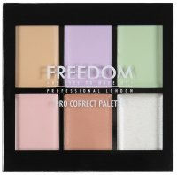 FREEDOM - PRO CORRECT PALETTE - 6 concealers