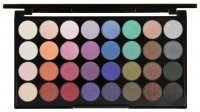 MAKEUP REVOLUTION - MERMAIDS FOREVER ULTRA EYESHADOWS - Palette of 32 eyeshadows