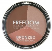 FREEDOM - BRONZED PROFESSIONAL PRO BRONZE - Face Contouring Set - SHIMMER LIGHTS