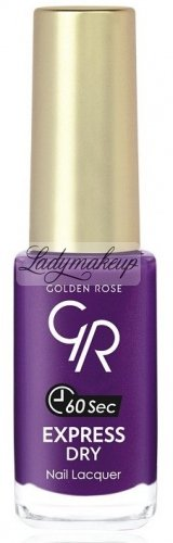 Golden Rose - EXPRESS DRY Nail Lacquer - O-GED