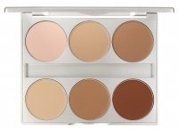 KRYOLAN - DUAL FINISH - Palette of 6 pressed foundations - ART. 9126