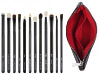 LOVETO.PL - Set of 12 make-up brushes + cosmetic bag