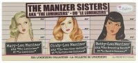 THE BALM - THE MANIZER SISTERS - Set of 3 make-up cosmetics