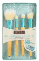 ECOTOOLS - FOUR - PIECE BEAUTIFUL COMPLEXION SET - Set of 4 make-up brushes - 1244