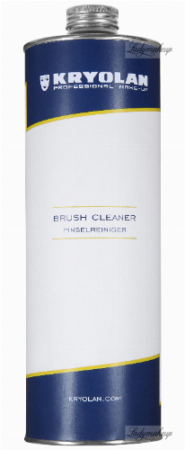 KRYOLAN - BRUSH CLEANER - Professional liquid for cleaning and disinfecting brushes - 1000 ml - ART. 3494