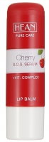 HEAN - LIP BALM - CHERRY S.O.S. SERUM - with Macadamia Oil and ECF Vitamin Complex