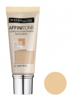 MAYBELLINE - AFFINITONE TONE - ON - TONE - Foundation - perfect match without mask effect - 03 - LIGHT SAND BEIGE - 03 - LIGHT SAND BEIGE
