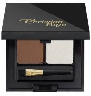 Christian - DUO HIGHLIGHTER SET - Semi-transparent eyebrow powder + highlighter