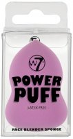 W7 - POWER PUFF - FACE BLENDER SPONGE - Make-up Sponge - PURPLE - (G)