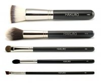 Hakuro - Set of 5 brushes for face and eye make-up - basic
