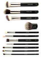 Hakuro - A set of 11 brushes for face and eye makeup - XL
