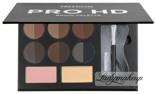 FREEDOM - PRO HD BROW PALETTE