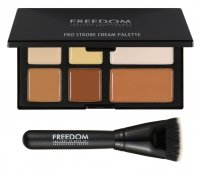 FREEDOM - PRO STROBE CREAM - PRO CREAM STROBE AND CONTOUR PALETTE WITH BRUSH