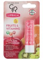 Golden Rose - LIP BALM FRUITS & VITAMINS - R-GLB-FRU