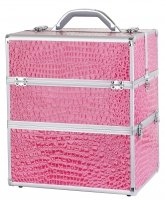 Make-up box - NS06 + A PINK - (CROCODILE)