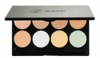 Glazel - PERFECT SKIN PALETTE - 8 camouflages