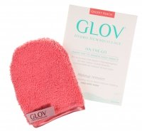 GLOV - HYDRO DEMAQUILLAGE - ON-THE-GO - COLOR EDITION - Glove for make-up removal - CHEEKY PEACH