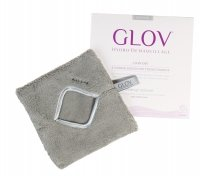 GLOV - HYDRO DEMAQUILLAGE - COMFORT COLOR EDITION - Glove for make-up removal - GLAM GREY