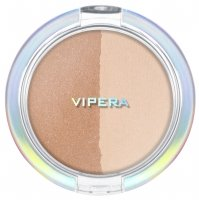 VIPERA - ART OF COLOR - COMPACT POWDER - DUO TRANSPARENT / BRONZER - 203